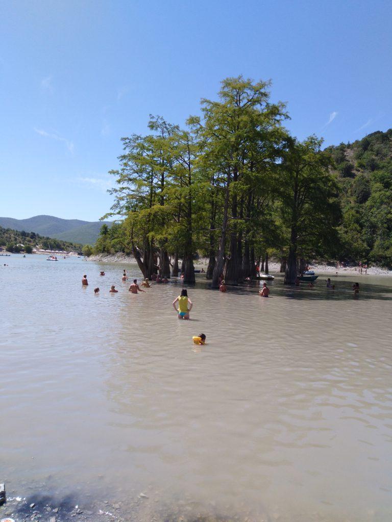 как добраться до кипарисового озера