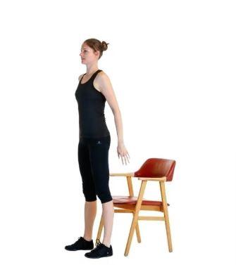 приседы на стул