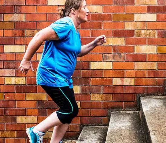 подъём по ступенькам для похудения